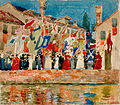 Procession, Venice by Maurice Brazil Prendergast, 1899, High Museum of Art.jpg