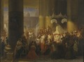 Procession at the Feast of Corpus Christi in Rome (Egron Lundgren) - Nationalmuseum - 18223.tif