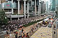 Protester occupy Queensway 20190612.jpg