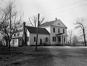 Person Place - Prudence Person House, HABS Photo