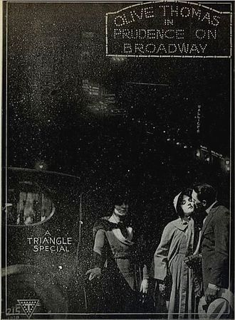 Prudence on Broadway - Image: Prudence on Broadway (1919) Ad 1