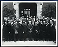 Psychoanalysts including Freud. Photograph. Wellcome V0027600.jpg