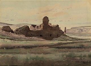 Pueblo Bonito Ruin, Chaco Canyon, New Mexico