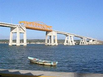 Alvarado, Veracruz - The Alvarado Bridge over the Papaloapan river