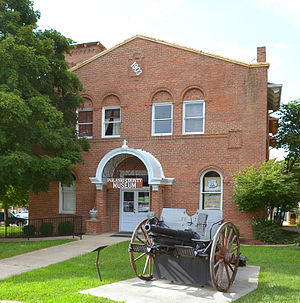Pulaski County, Missouri - The old Pulaski County Courthouse, which is on the National Register, is now a museum.