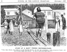 Una caricatura ottocentesca sul Punch