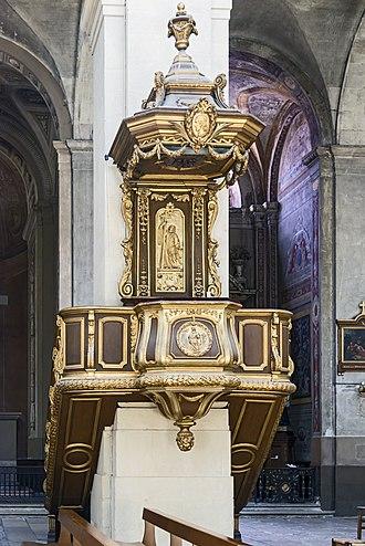 Montauban Cathedral - Image: Pupilt of Cathédrale Notre Dame de l'Assomption de Montauban PM82000331