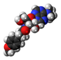Puromycin 3D spacefill.png