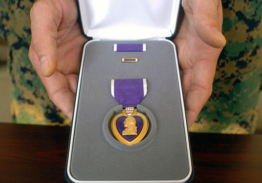 Purple Heart case