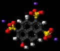 Pyranine-sodium-3D-balls.png