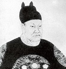 QIAN Liu (ook bekend als TSIEN Liu), koning van Wuyue.jpg