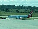 Qantas 737-800 VH-VZU at MEL (26750681212).jpg