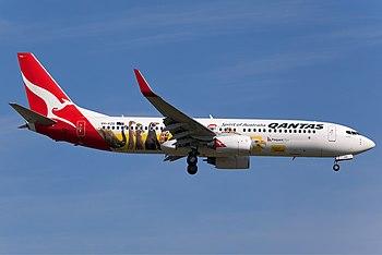 Qantas Boeing 737-800 VH-VZD (cn 34198/2659) N...