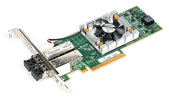 Fibre Channel - Dual port 16Gb FC host bus adapter card.