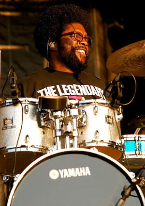 Questlove - Questlove performing for The Roots at the 2011 Ottawa Bluesfest