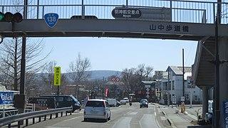 Japan National Route 138 road in Japan