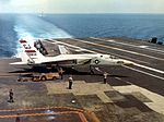 RA-5C Vigilate of RVAH-3 aboard USS Saratoga (CVA-60) on 8 September 1965 (NNAM.1996.253.6353).jpg