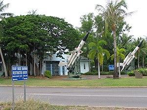 RAAF Base Darwin - Image: RAAF Base Darwin main gate