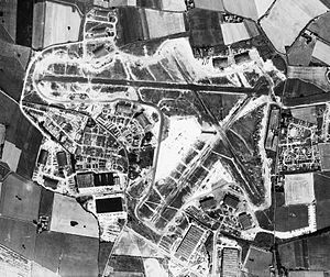RAF Burtonwood - Burtonwood Airfield in 1945