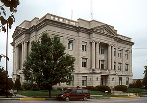 Richmond, Missouri - Ray County Courthouse in Richmond