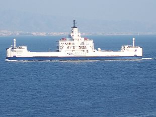 Traghetto Riace con il nuovo logo Bluvia