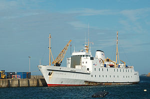 RMV Scillonian III docked at St Mary's harbour.jpg