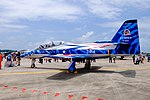 ROCAF Thundertigers AT-3 0814 Display at Gangshan Air Force Base Apron 20170812Fa.jpg