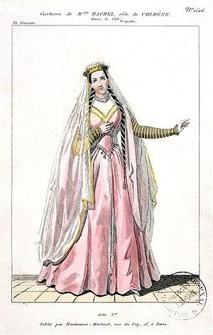 Rachel Félix - Rachel as Chimène in Le Cid by Corneille