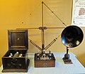 Radio d'epoca, primi apparecchi magnavox, anni dieci 01.JPG