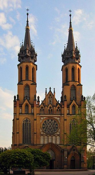 Roman Catholic Diocese of Radom - The Cathedral of the Virgin Mary in Radom