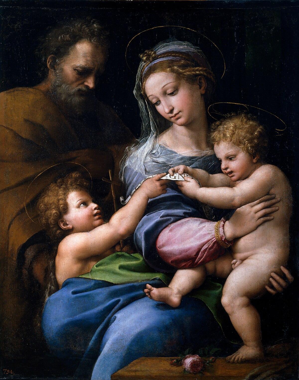 Madonna della Rosa (Raffaello) - Wikipedia