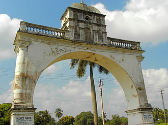 Raikat - The Palace Gate, at present.