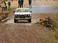 Rally car at Strathrory - geograph.org.uk - 501562.jpg