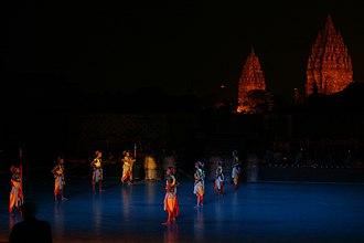 Prambanan - Ramayana dance performance in Prambanan.