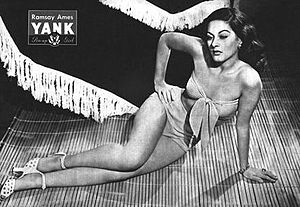 Ramsay Ames - Pin-up photo of Ramsay Ames for the May 4, 1945 issue of Yank, the Army Weekly