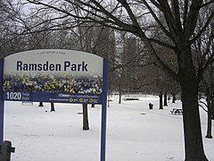Ramsden Park sign of snow.jpg