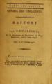 Rapport fait par Genissieu, sur la réclamation du représentant du peuple Sonthonax etc 16 Thermidor VI - 3 Août 1798.png
