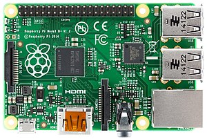 ARM11 - Image: Raspberry Pi B+ top