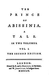 novel by Samuel Johnson