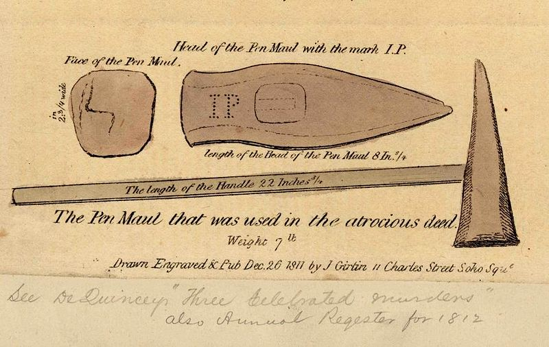 File:Ratcliffe Highway Murders, Seaman's Maul used in the first murders.jpg