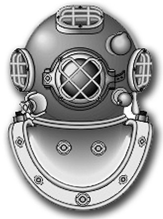Navy diver (United States Navy) - Image: Rating Badge ND