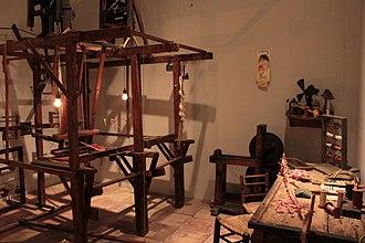 Passementerie - Passemanterie workshop, Valencian Museum of Ethnology.