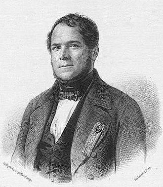 Adrien Recurt - Portrait from Assemblée nationale. Galerie des représentants du peuple, 1848