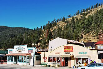 Red River, New Mexico - Red River Historic District