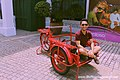 Red trishaw, Sentosa, Singapore - 20140213.jpg