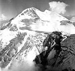 Redoubt Volcano, mountain glacier with bergschrund, August 22, 1968 (GLACIERS 6776).jpg