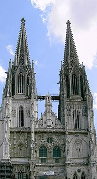 Dom - the Regensburg Cathedral.