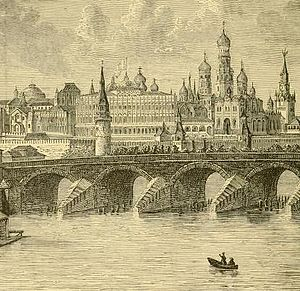 Reginald Heber - A depiction of the Kremlin in Moscow