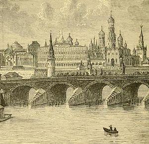 Reginald Heber - A depiction of the Kremlin in Moscow