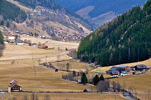 Gurk (river) - Gurktal near Reichenau